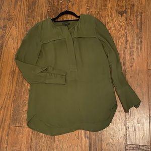 J. CREW Army Olive Green Shirt